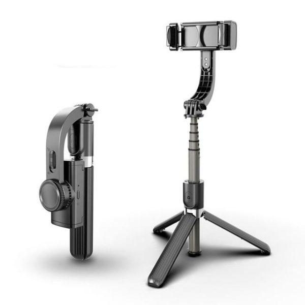 Support Intelligent 3D Pour Téléphone Portable Raton Malin Modèle 1 Noir
