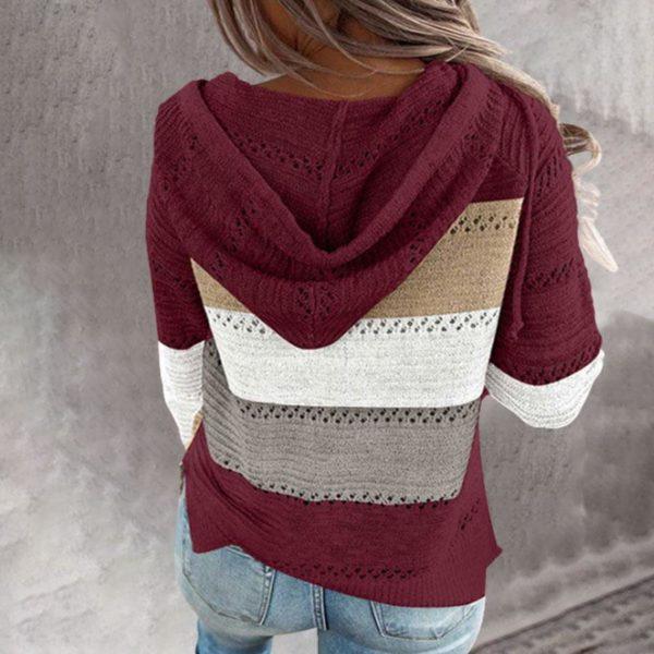 product image 1488328954 Cardigan Zippé Multicolore