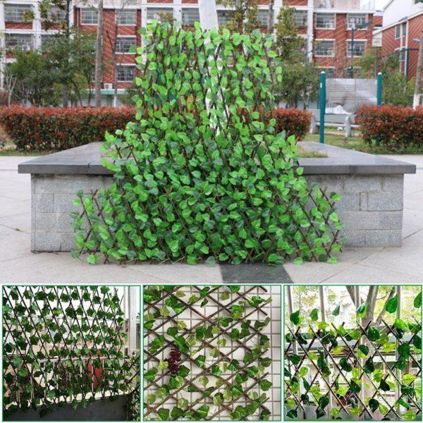 product image 1489319338 Clôture De Plante De Jardin Artificielle Rétractable