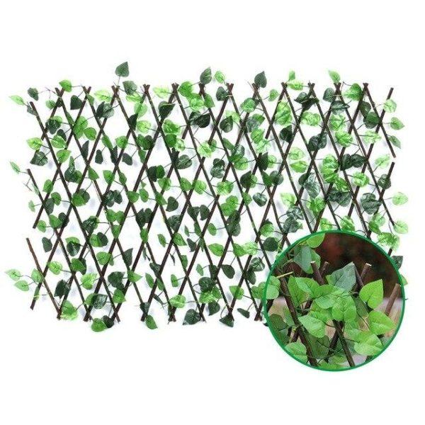 product image 1489319345 Clôture De Plante De Jardin Artificielle Rétractable