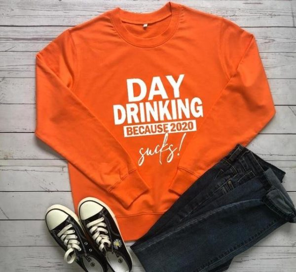 Sweat-shirt Casual - Nouvelle Collection Minute Mode Orange XXL