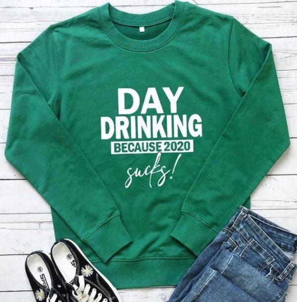 Sweat-shirt Casual - Nouvelle Collection Minute Mode Vert Foncé S