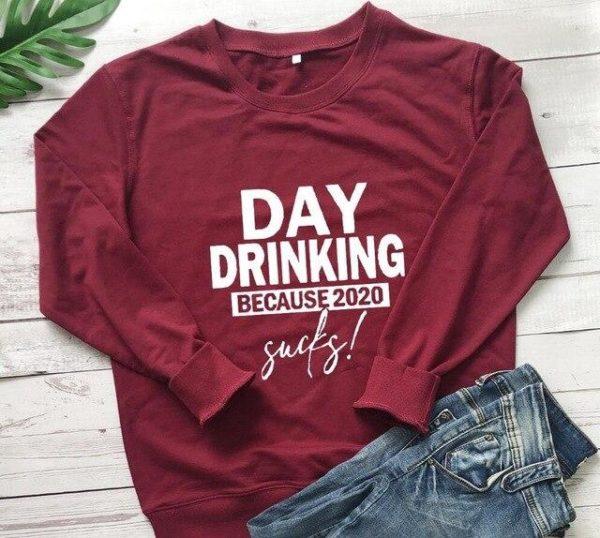 Sweat-shirt Casual - Nouvelle Collection Minute Mode Bordeaux L