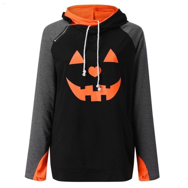 product image 1515517157 Sweat Col Montant Halloween