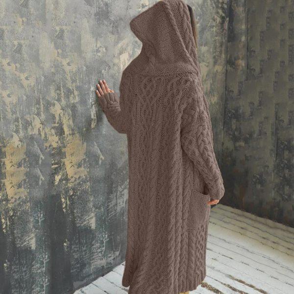 product image 1516268742 Cardigan Long À Capuche