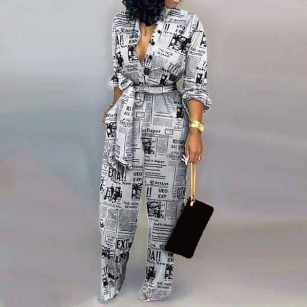 Combinaison Nouée à Motifs Site Vêtements Modèle 4 S
