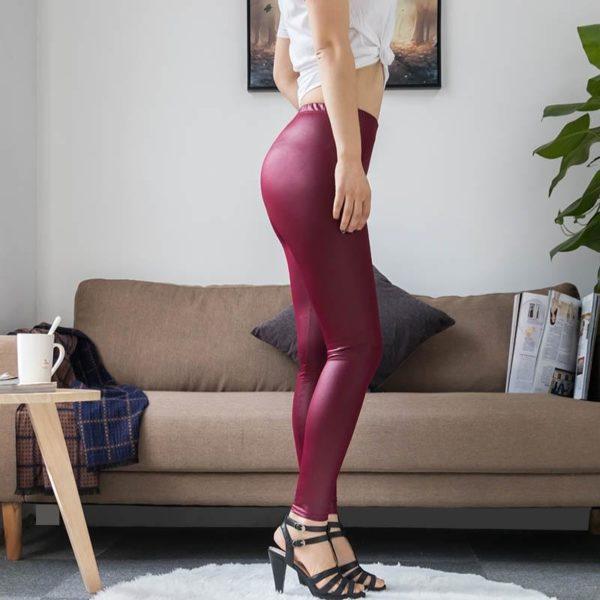 product image 1591978381 Legging En Cuir - Nouvelle Collection