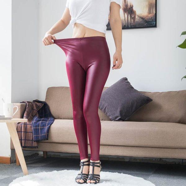product image 1591978382 Legging En Cuir - Nouvelle Collection