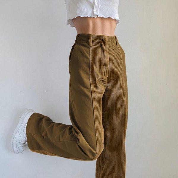 product image 1603923934 Pantalon Vintage En Velours