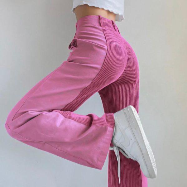 product image 1603923945 Pantalon Vintage En Velours
