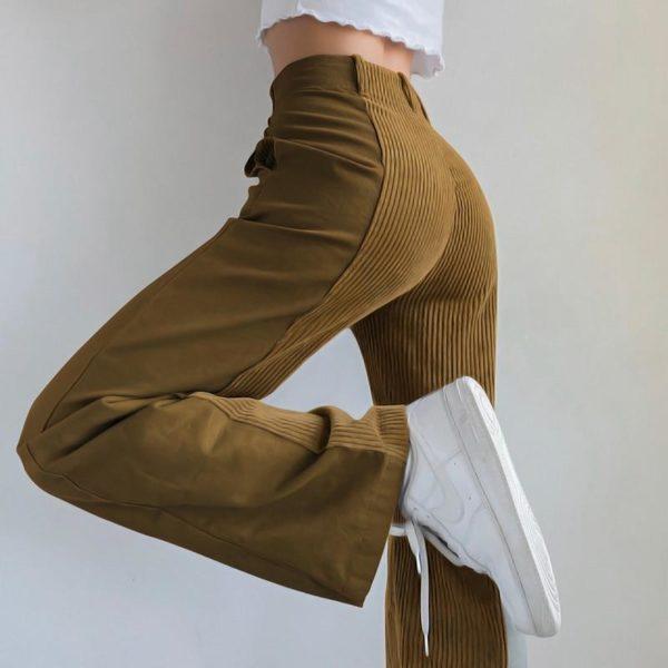 product image 1603923948 Pantalon Vintage En Velours