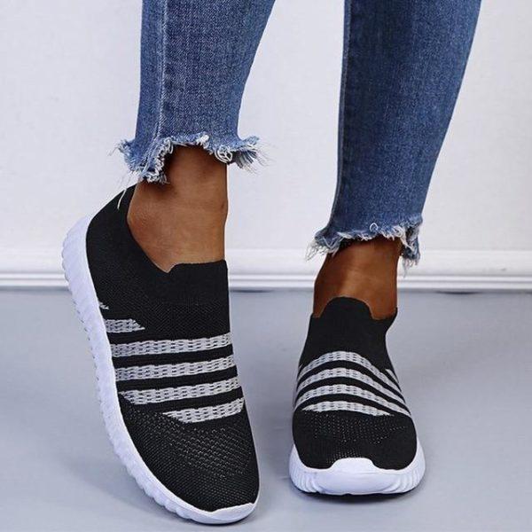 Baskets Slip-On Athlétiques Site Vêtements Noir 40