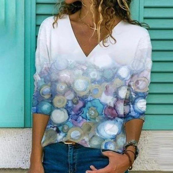 Chemise Elégante Imprimée Site Vêtements Modèle 11 L