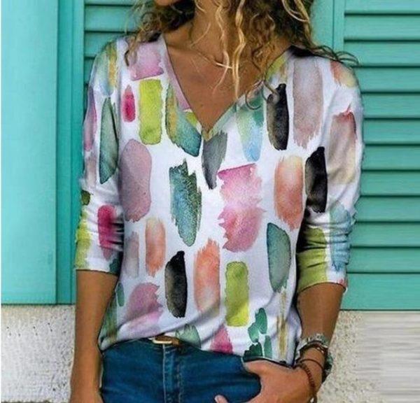 Chemise Elégante Imprimée Site Vêtements Modèle 7 S
