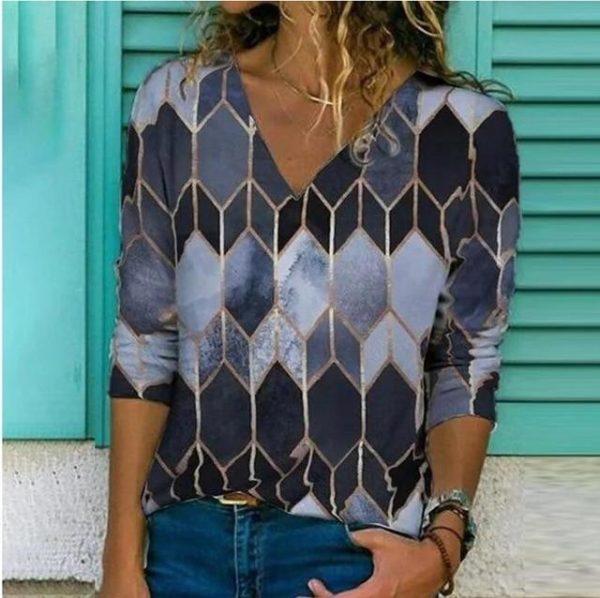 Chemise Elégante Imprimée Site Vêtements Modèle 10 S