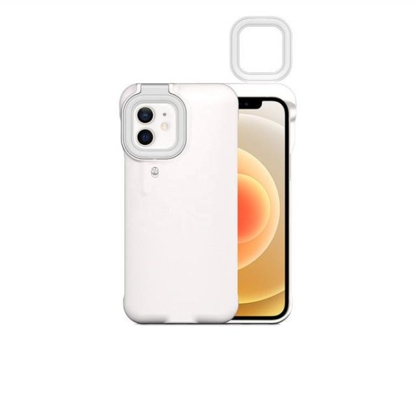 Etui LED pour iPhone Flash Ventes Blanc iPhone 12