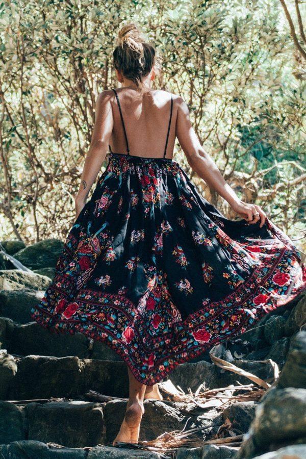 product image 254029259 Robe Florale Bohème