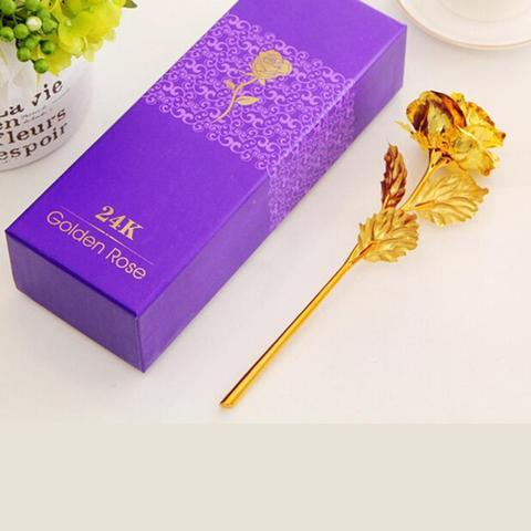 product image 281354635 large a2d34785 79f0 4751 9d5e a1e1534e8403 Rose Éternelle Plaqué Or 24 Carat, Signe De Votre Amour Éternel