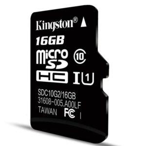 Petite capacité 16GB