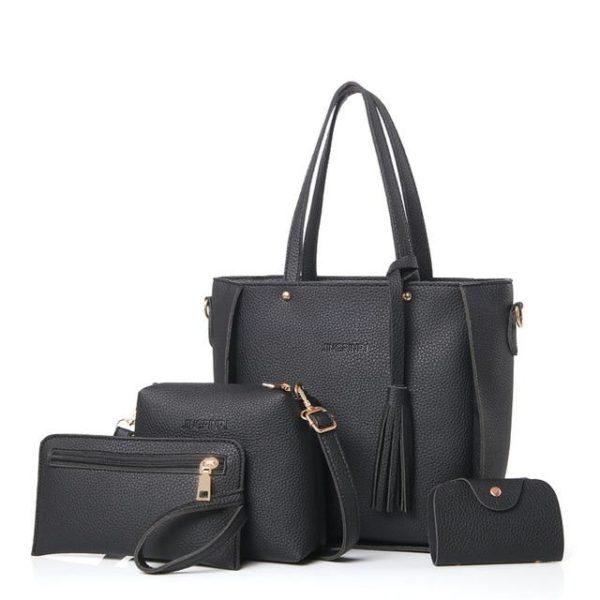 Sac à Main et Autres accessoires - Kit Complet Minute Mode Noir (20cm