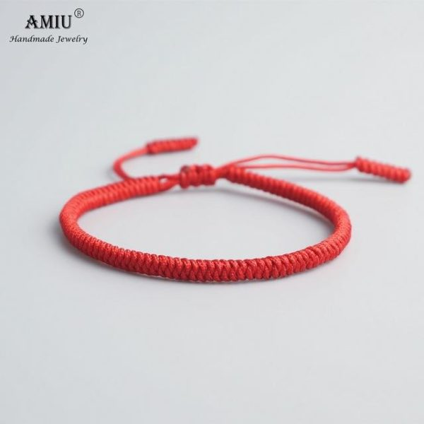 product image 471426620 Bracelet De Cordes Tibétain Fait À La Main
