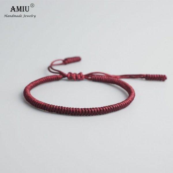 product image 471426621 Bracelet De Cordes Tibétain Fait À La Main