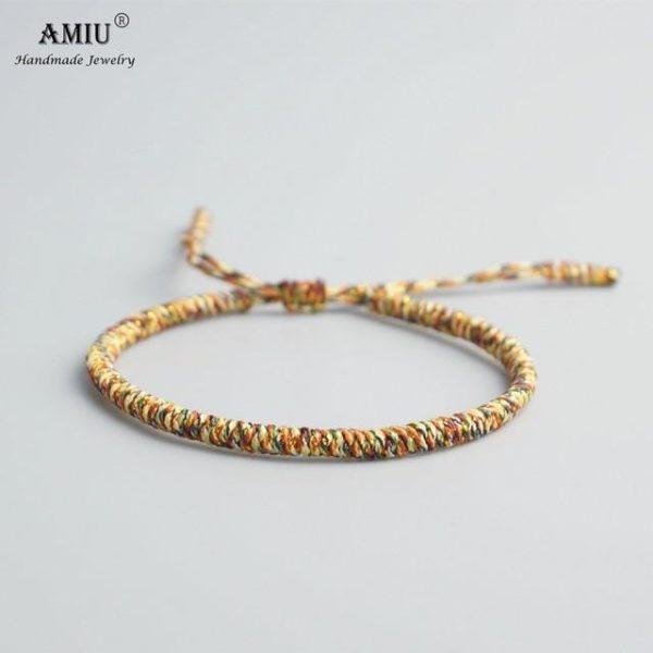 product image 471426622 Bracelet De Cordes Tibétain Fait À La Main
