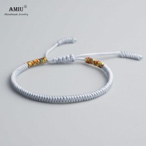 product image 471426623 Bracelet De Cordes Tibétain Fait À La Main
