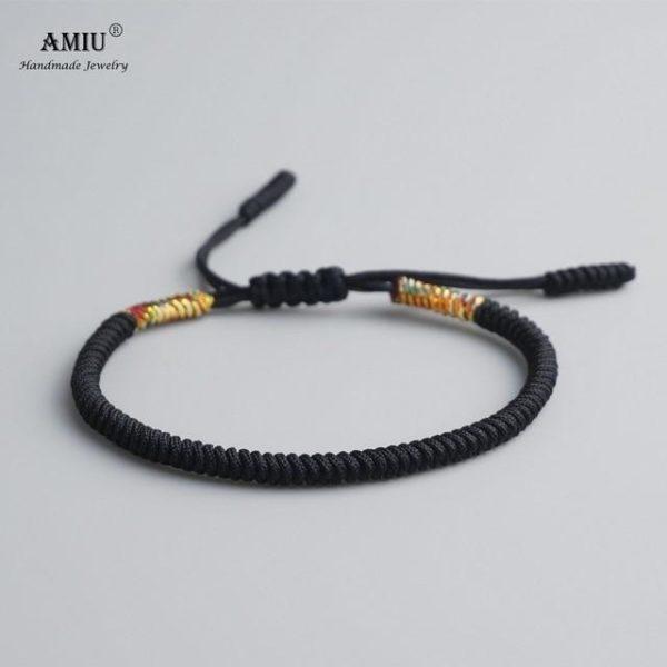 product image 471426624 Bracelet De Cordes Tibétain Fait À La Main
