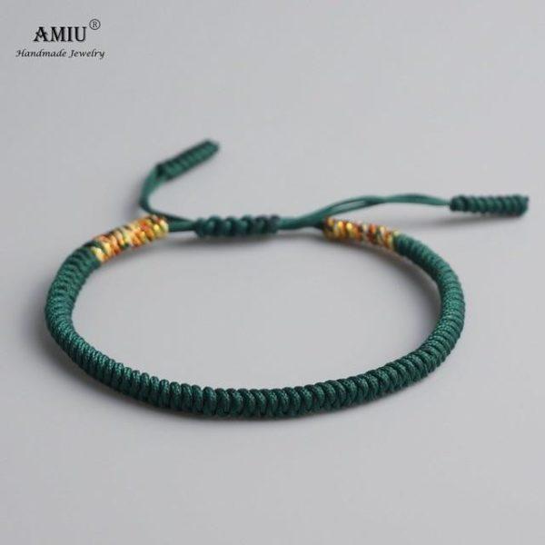 product image 471426625 Bracelet De Cordes Tibétain Fait À La Main