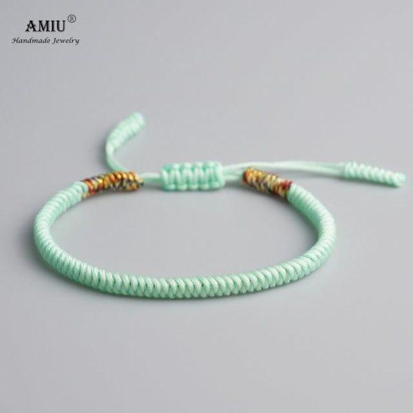product image 471426629 Bracelet De Cordes Tibétain Fait À La Main