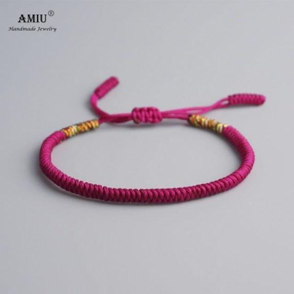 product image 471426630 Bracelet De Cordes Tibétain Fait À La Main