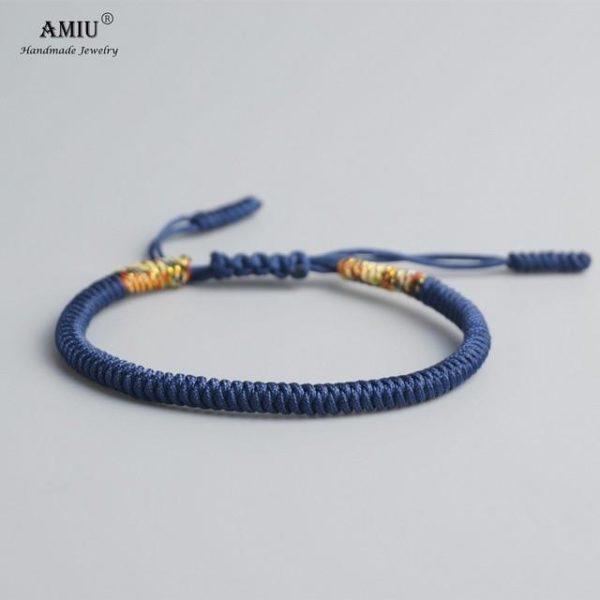 product image 471426631 Bracelet De Cordes Tibétain Fait À La Main