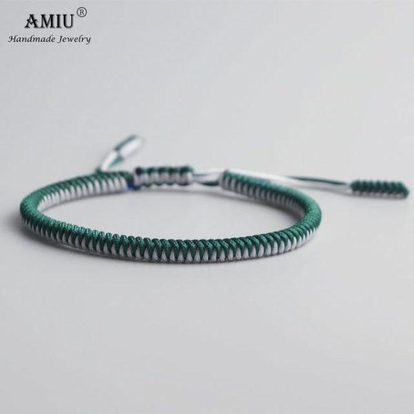 product image 471426633 Bracelet De Cordes Tibétain Fait À La Main