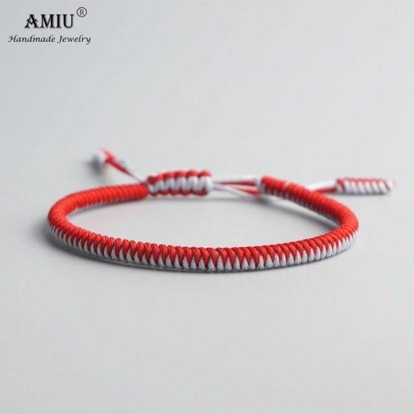 product image 471426634 Bracelet De Cordes Tibétain Fait À La Main
