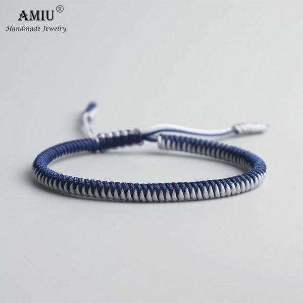 product image 471426635 Bracelet De Cordes Tibétain Fait À La Main
