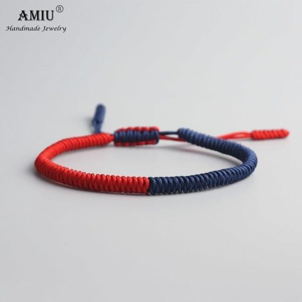 product image 471426636 Bracelet De Cordes Tibétain Fait À La Main