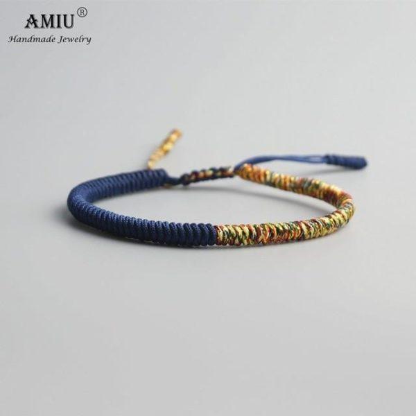 product image 471426637 Bracelet De Cordes Tibétain Fait À La Main