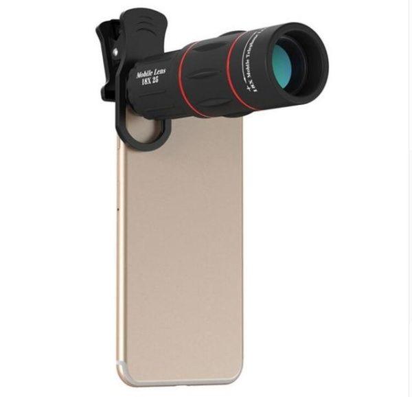 Objectif pour Smartphone - Zoom X18 Raton Malin Sans trépied