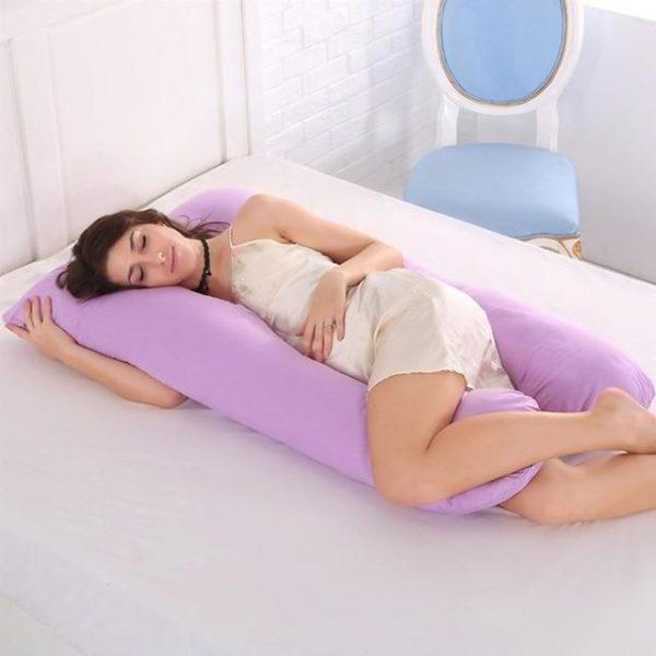 PerfectSleep™ - Grand oreiller de corps raton-malin Violet