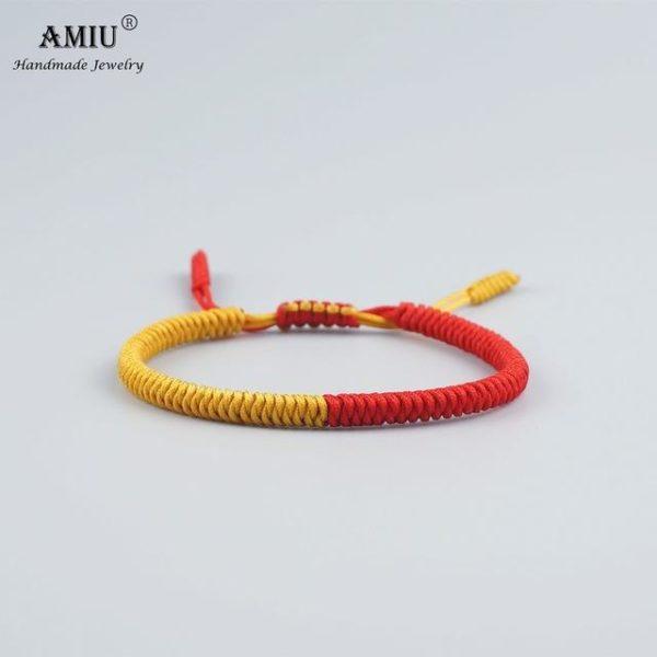 product image 542440788 Bracelet De Cordes Tibétain Fait À La Main