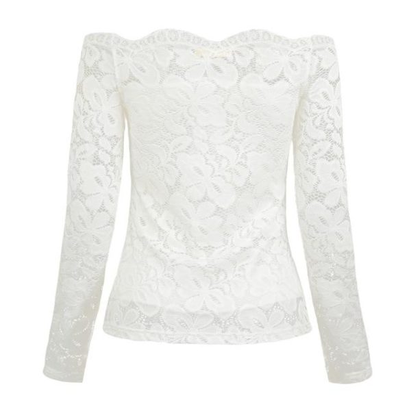 product image 578381790 Superbe Blouse Dentelle
