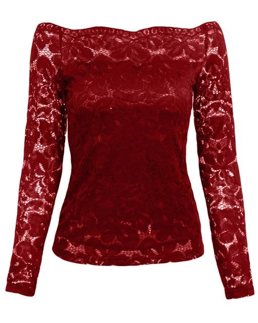 product image 578381793 Superbe Blouse Dentelle