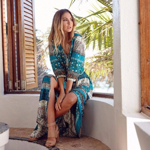 product image 653996926 Robe Longue Style Hippie