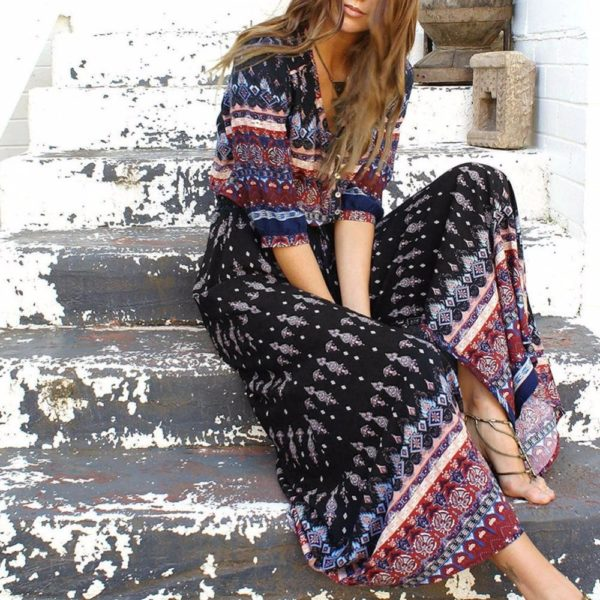 product image 653996929 Robe Longue Style Hippie