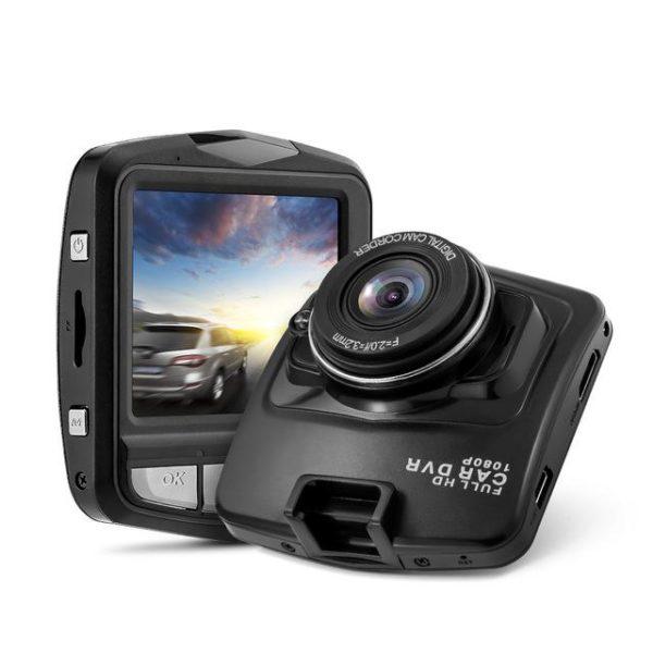 Dashcam voiture full hd 1080p - prouvez votre droit en cas d'accident raton-malin Noir