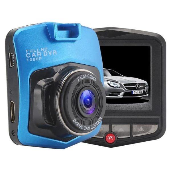 Dashcam voiture full hd 1080p - prouvez votre droit en cas d'accident raton-malin Bleu