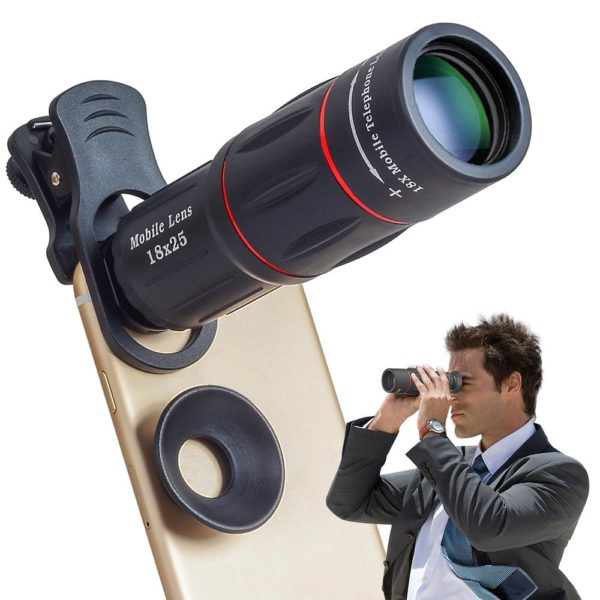 product image 709785464 Objectif Pour Smartphone - Zoom X18