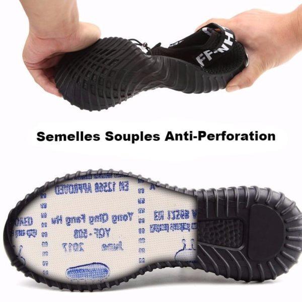 product image 741102080 Chaussures De Sécurité Pour Homme À Embout Protecteur En Acier