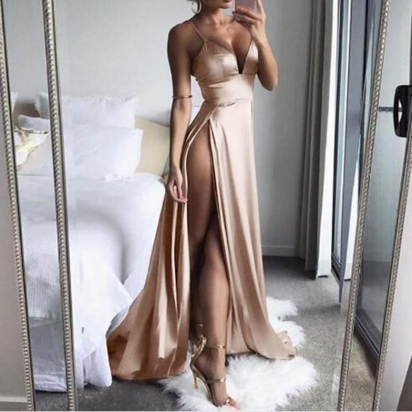 Robe HELENA Minute Mode Champagne L